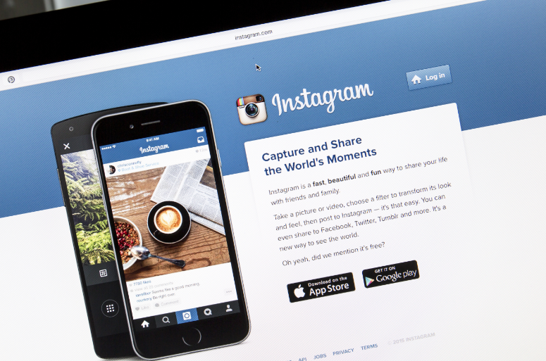 Instagram desktop version