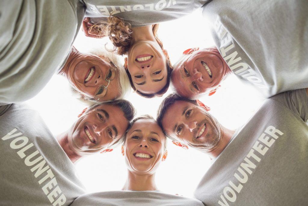 Corporate social responsibility volunteers