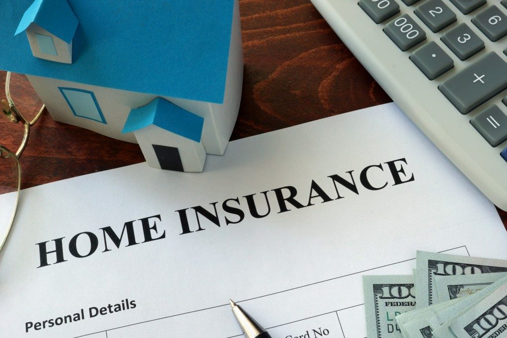 Home insurance contract
