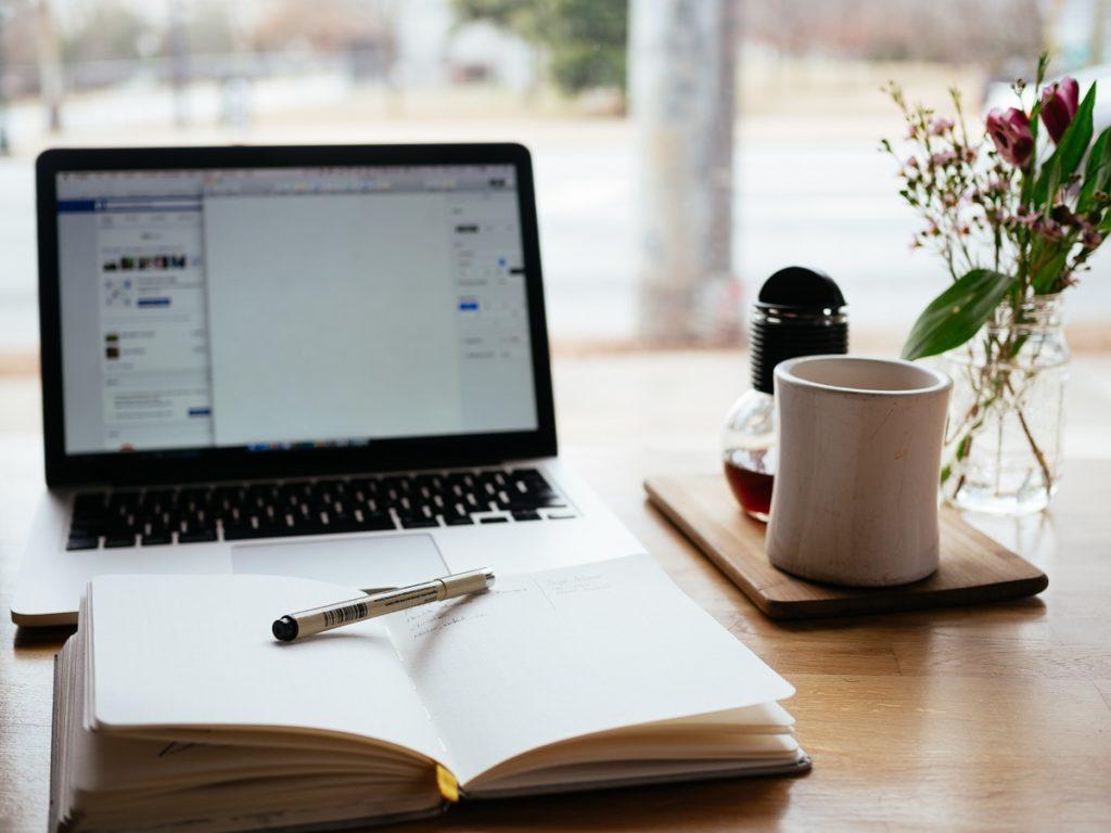 concept of blog writer
