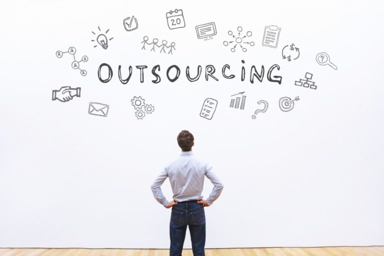 outsourcing illustration