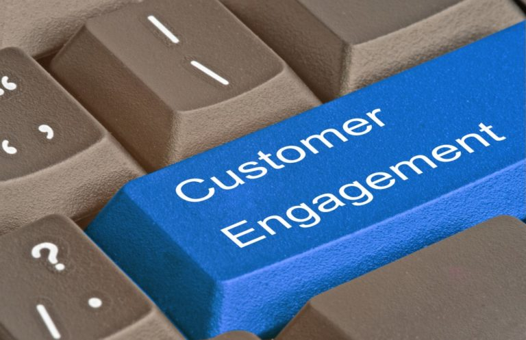 customer engagement visualized