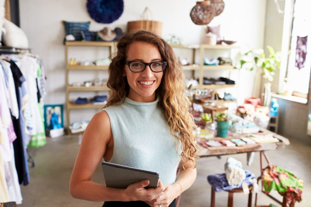 woman business owner