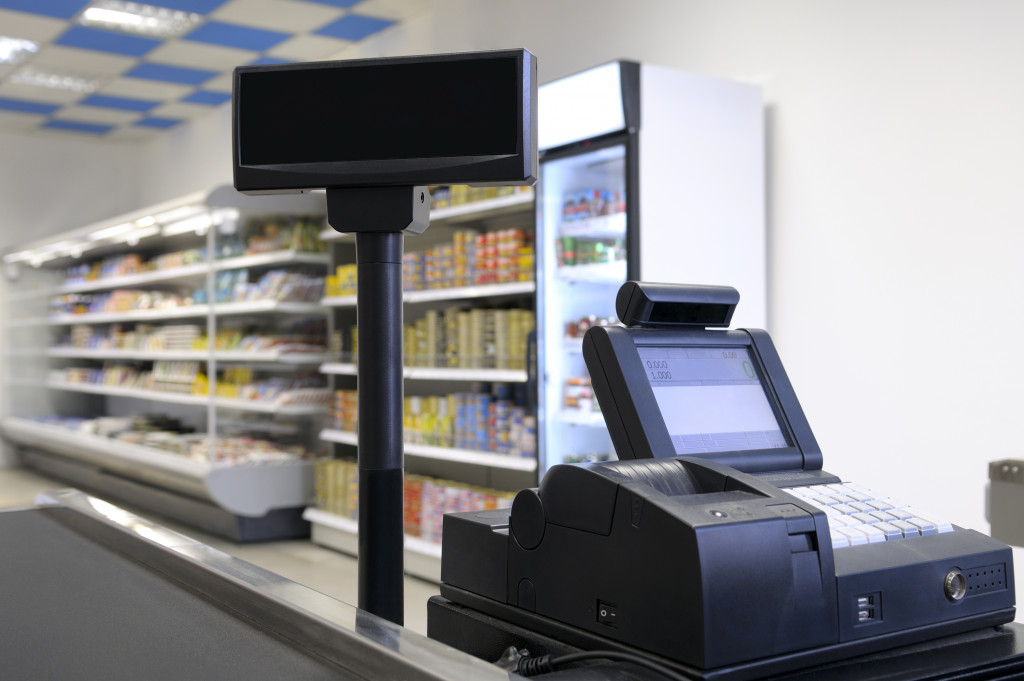 POS system in convenience store
